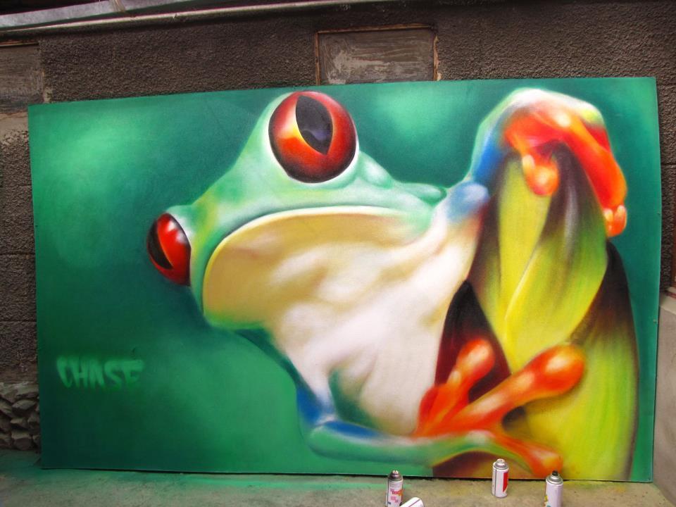 Frosch von Chase