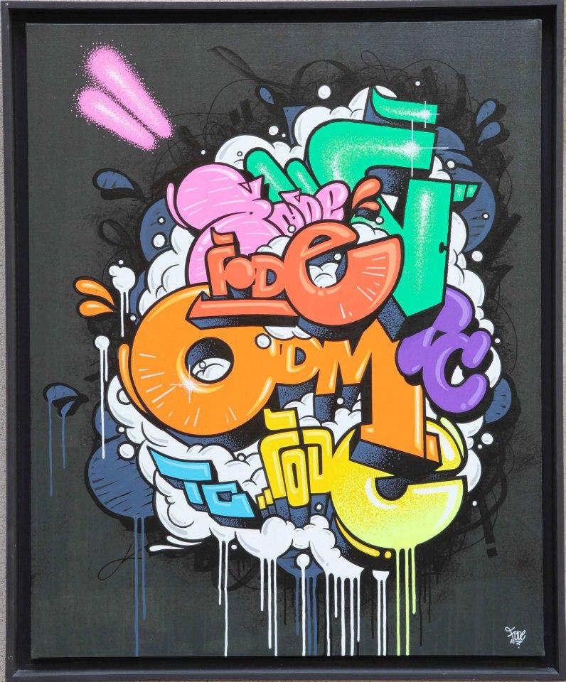 Crazy bubble - 100 x 81 cm - 2012