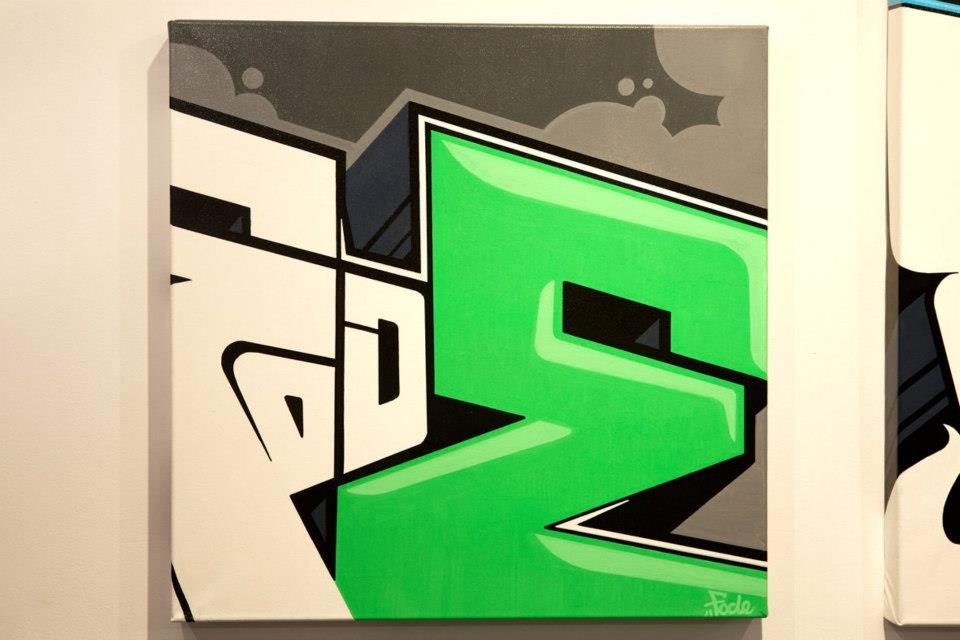 "Fode - ""E 003"" - 60 x 60 - 2011"