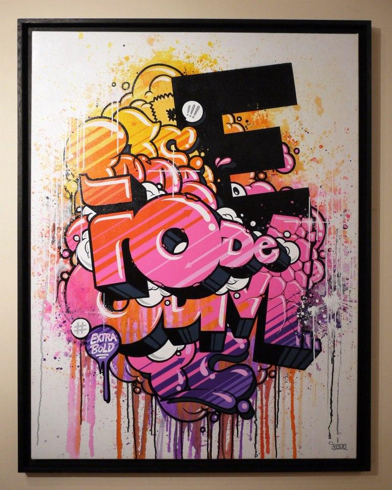 Fode - Extra bold116x89 cm - 2012