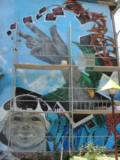 Graffiti Festival Bischkek