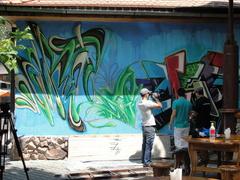 Graffiti Festival Bischkek, Kirgisistan 2012 - fertige Wand