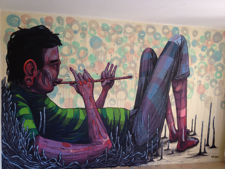 Flötenspieler von Max Birkl