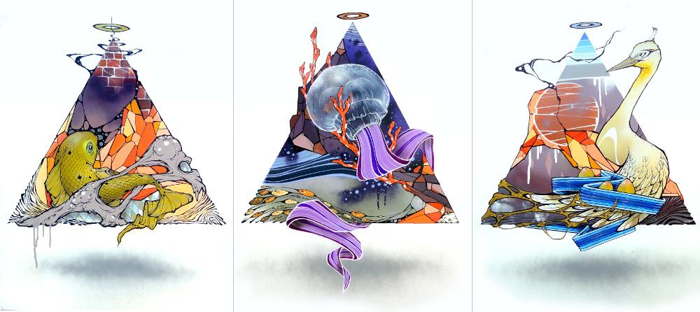 Triangle Triptychon coll