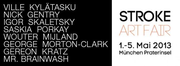 mit auf der Stroke Art Fair 2013 - Galerie flash