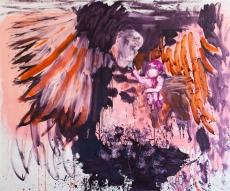Kiss Öl auf Leinwand // 200 x 240 cm // 2013