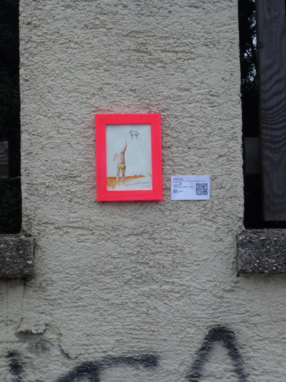 Der Ursprung - peintre X