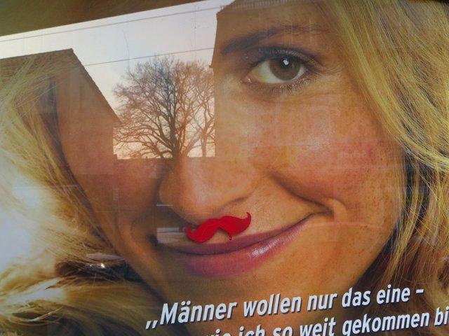 Männer wollen nur das eine - Frau mit Bart? - aus Dresden