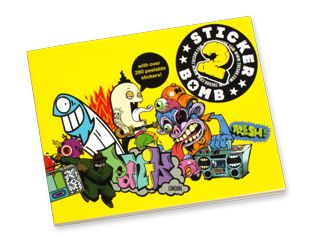'Sticker Bomb #2 Buch