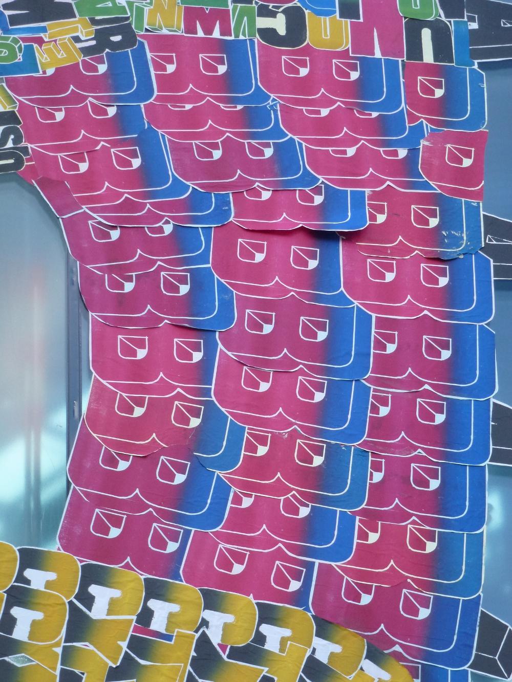 Details der Buchstaben - hergestellt von Fefe Talavera für Ihre Buchstaben-Monster