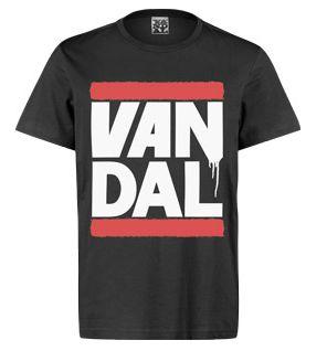 Vandal Wear Van DMC T-Shirt