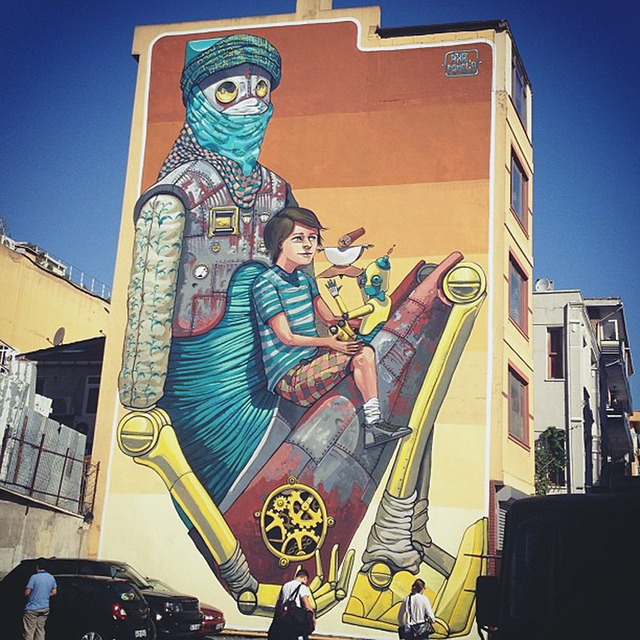 Pixel Pancho - Istanbul