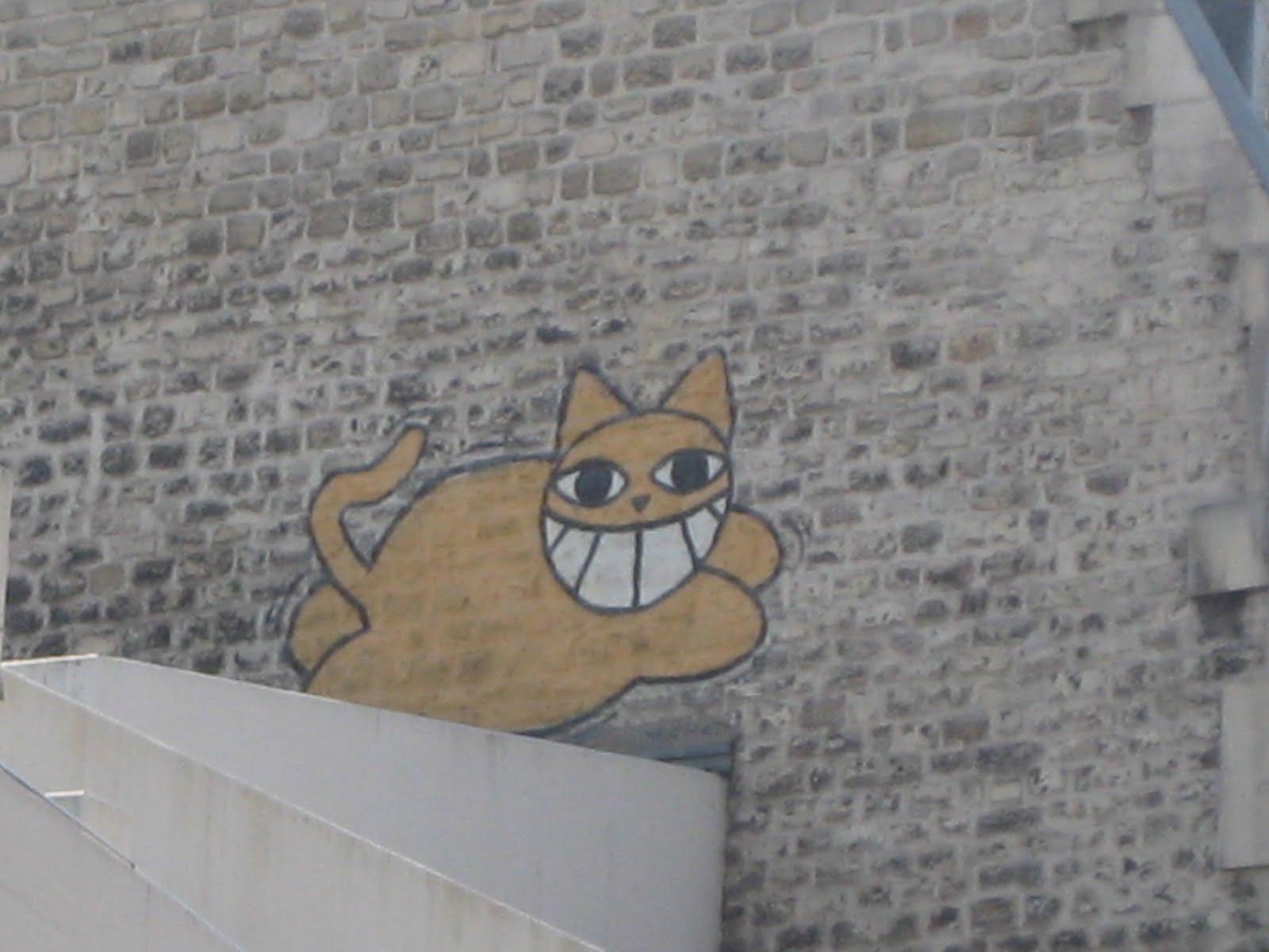 M Chat, Katze über Paris