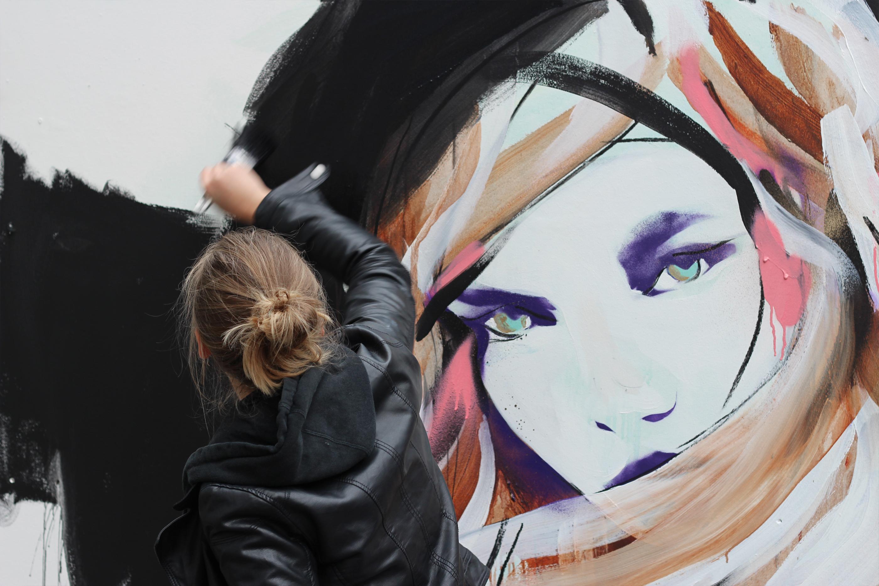 STROKE Art Fair 2013 in Berlin Hannah Adamaszek