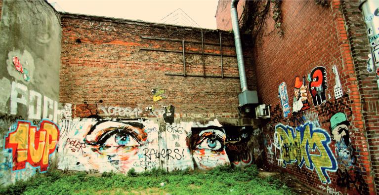 """Grauzonen? – Street Art und Graffiti"""