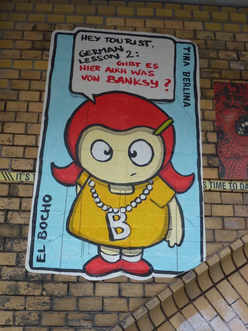 """EL BOCHO - Tina Berlina - """"Hey Tourist..."""""""