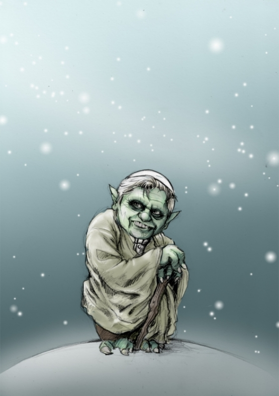 Yoda XVI by Fraubath