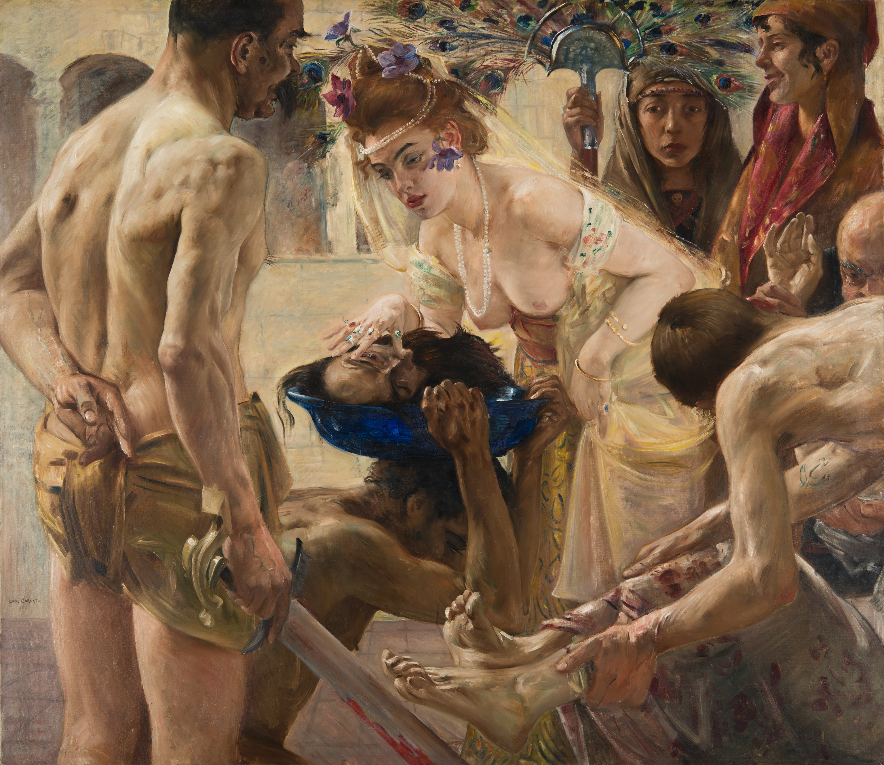 Lovis Corinth (1858–1925) Salome II, 1899/1900 Öl auf Leinwand, 127 x 147 cm Museum der bildenden Künste Leipzig, Leipzig Foto: Museum der bildenden Künste, Leipzig