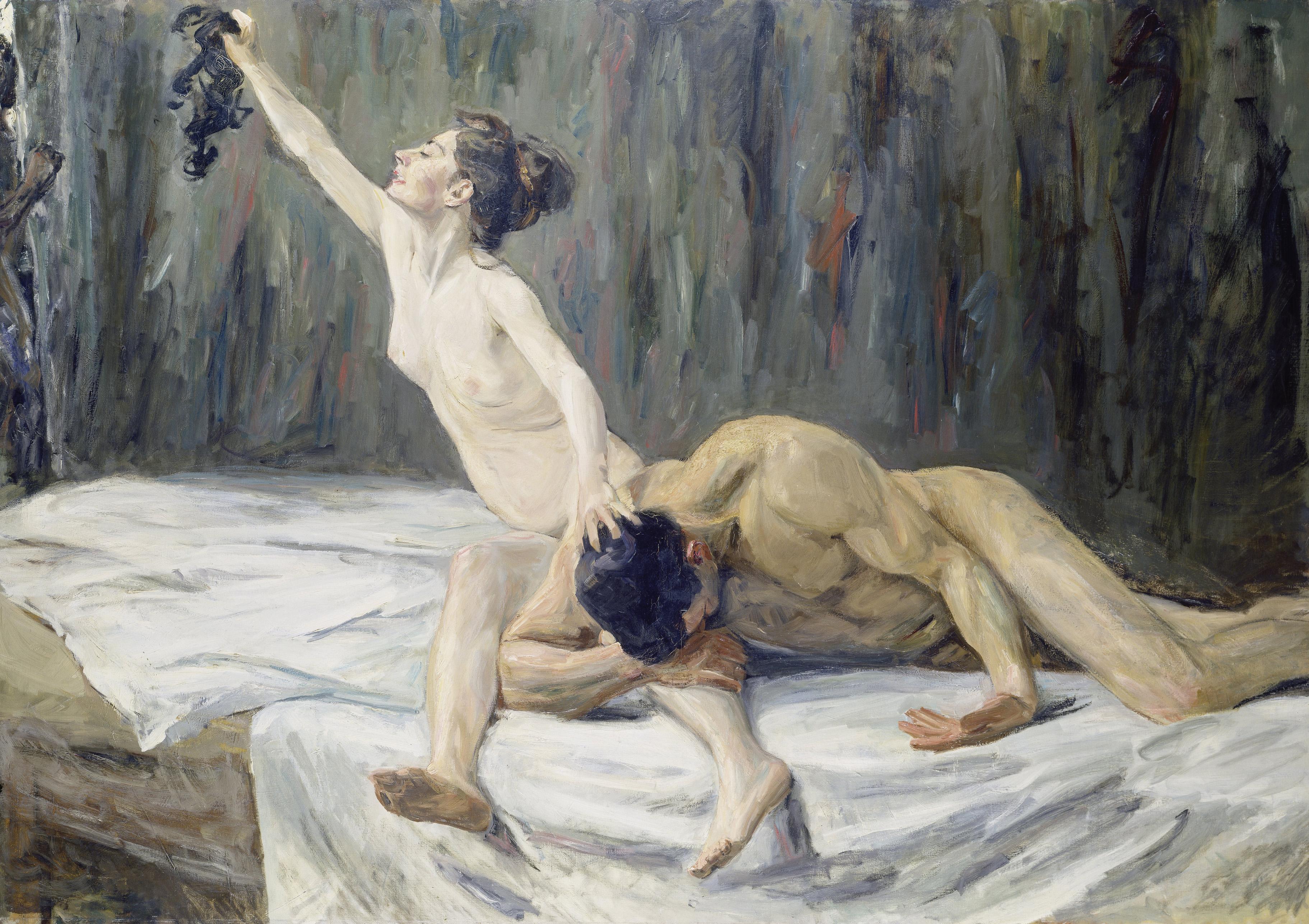 Max Liebermann (1847–1935) Simson und Delila, 1902 Öl auf Leinwand, 151,2 x 212 cm Städel Museum, Frankfurt am Main Foto: Städel Museum – ARTOTHEK