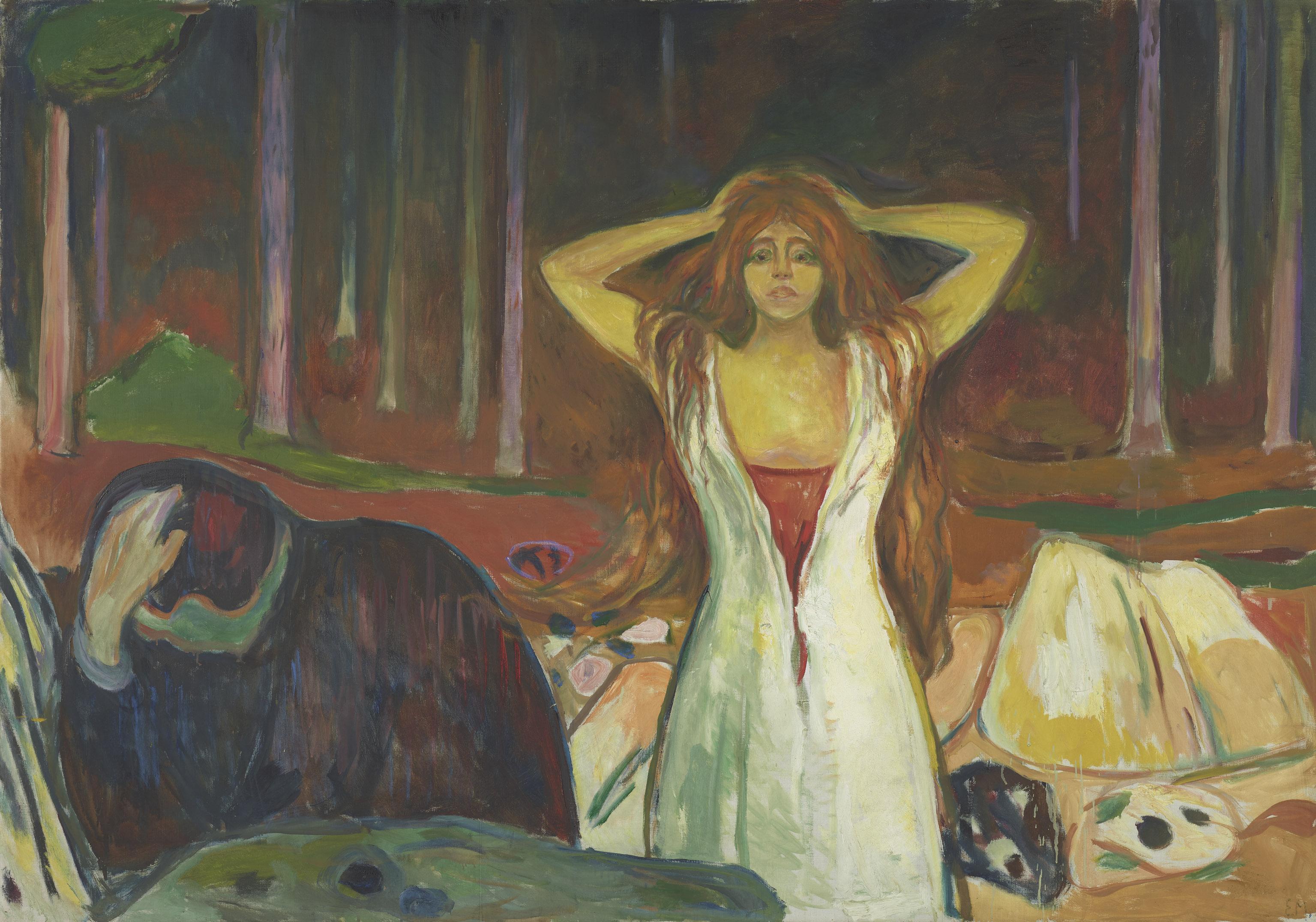 Edvard Munch (1863–1944) Asche, 1925 Öl auf Leinwand, 139,5 x 200 cm Munch Museum, Oslo Foto: Munch Museum