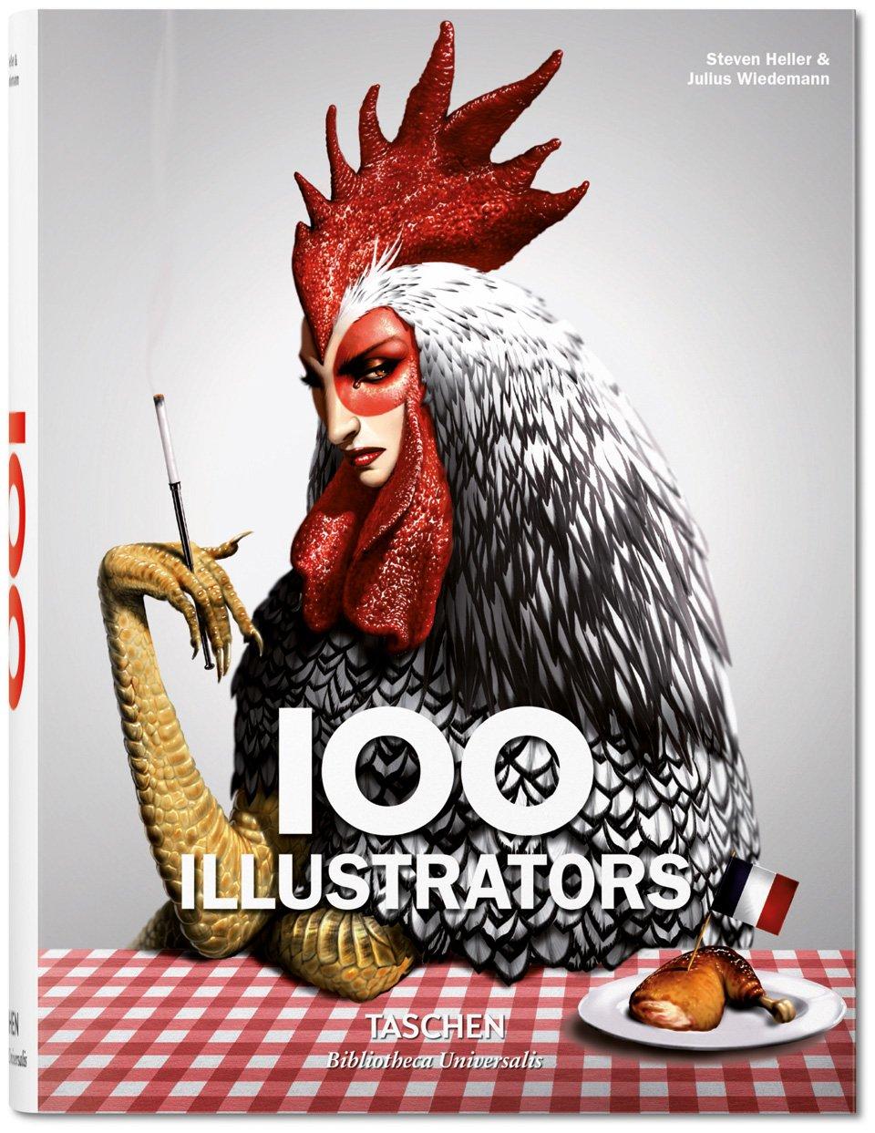 """""""100 Illustrators"""" aus dem Taschen-Verlag von Steve Heller und Julius Wiedemann"""