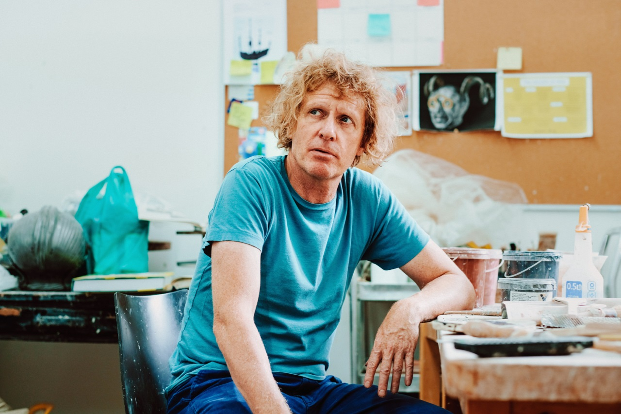 Grayson Perry Descent of Man © Jamie Stoker