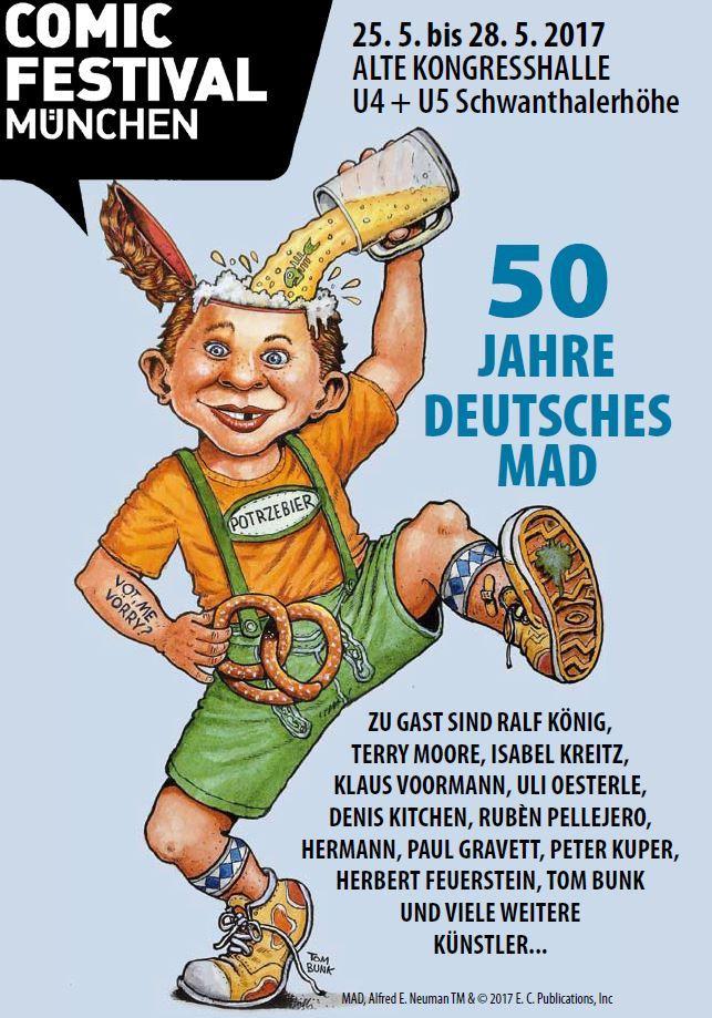 50 Jahre Deutsches MAD - Comicfestival München - 25.05. - 28.05.