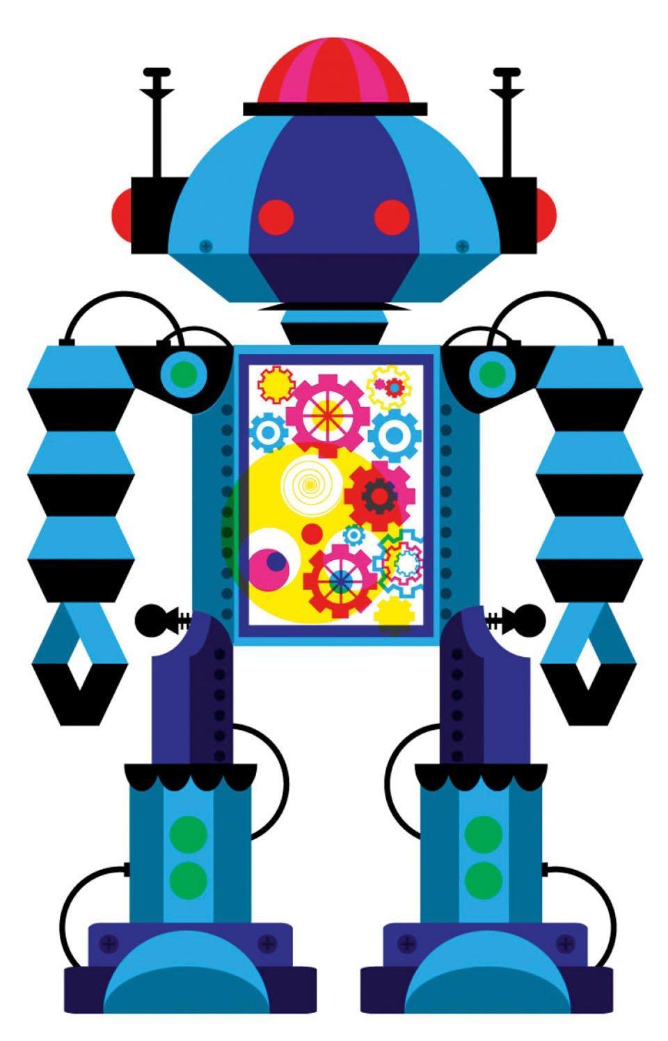 Seite 376: Robot 1, 2011 | Patrick Hruby, Sappi Fine Paper; digital | Copyright: TASCHEN