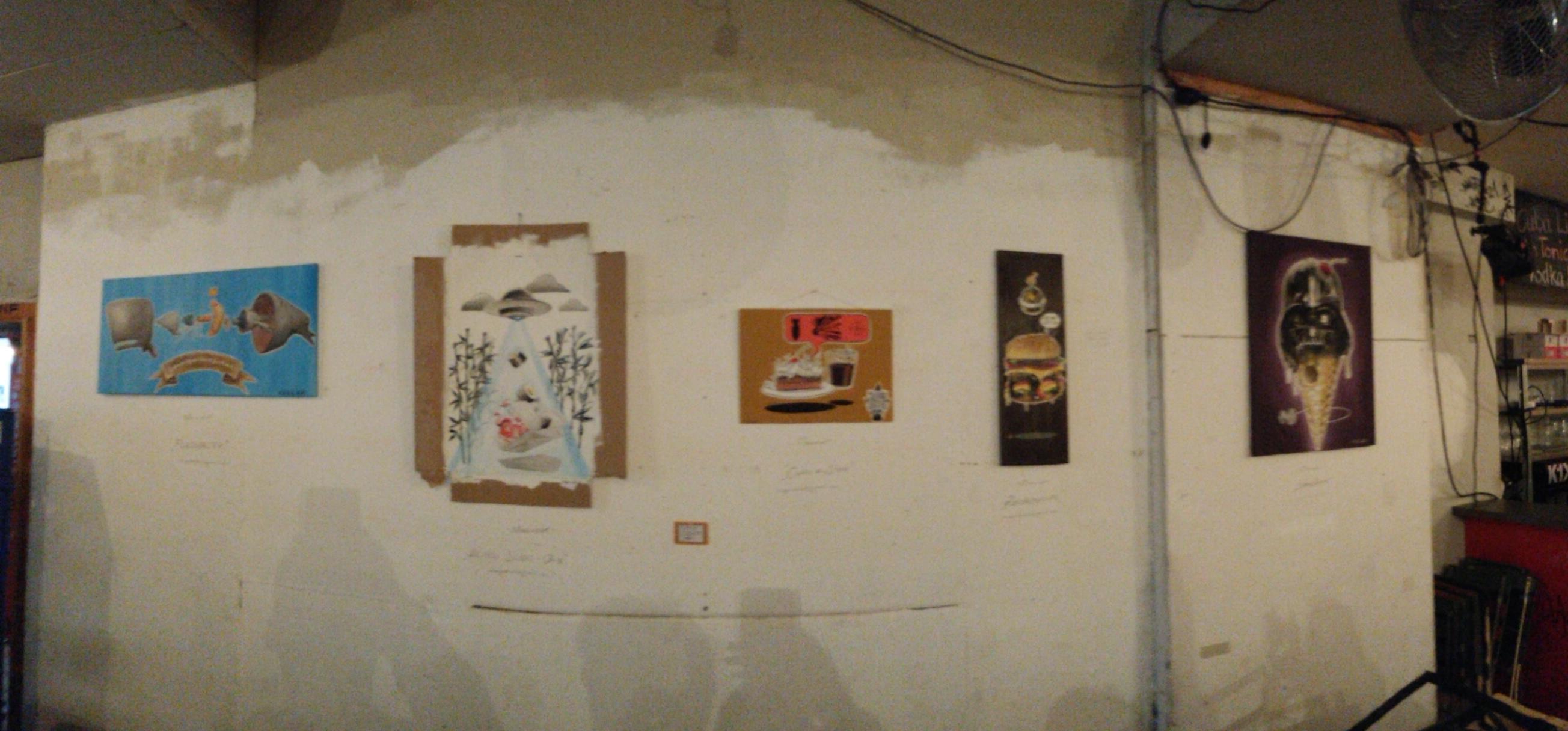 Arbeiten von Molusk- Panorama-Aufnahme