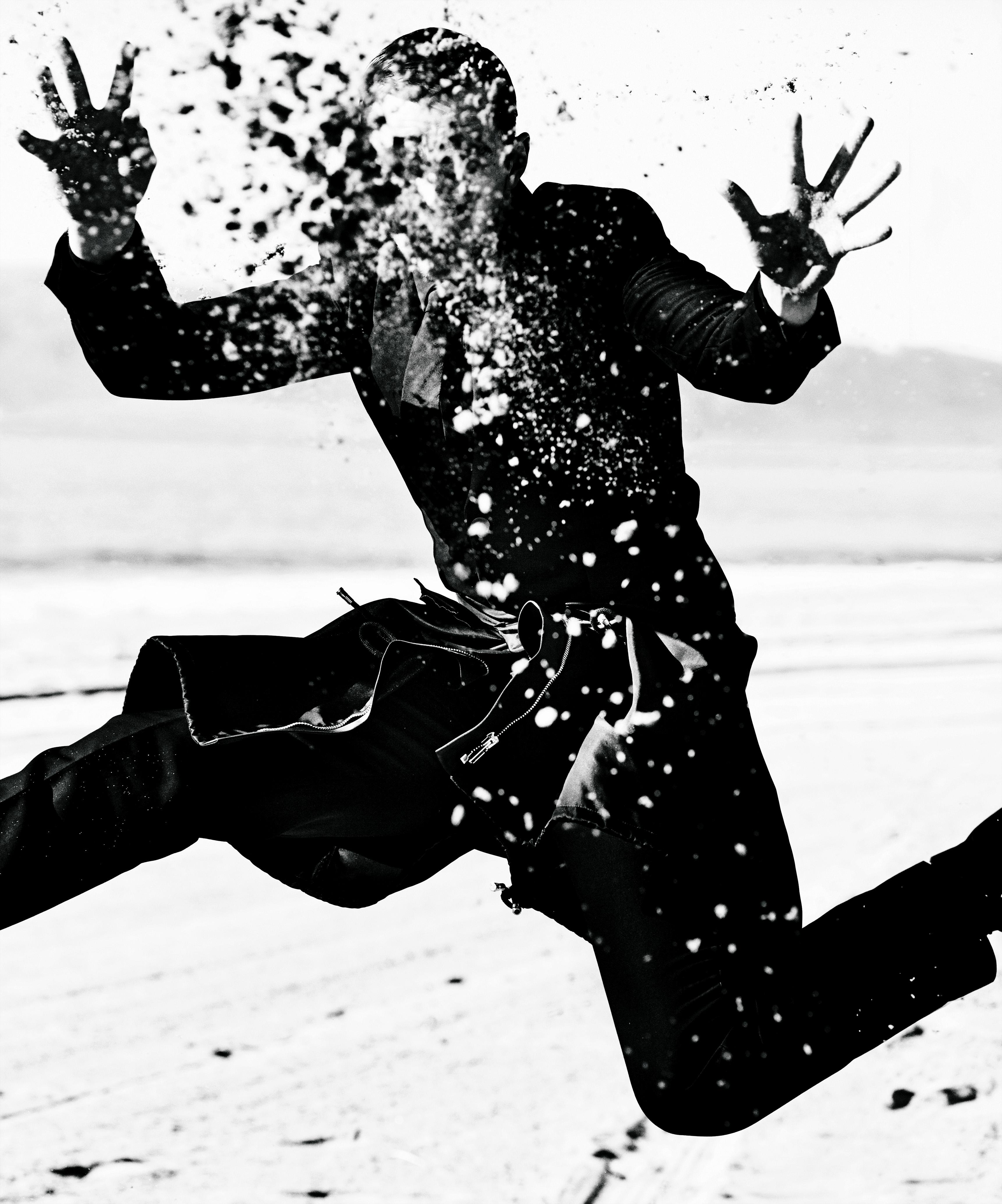 Nicholas Hoult, Los Angeles, VMAN, 2013 © Mario Testino