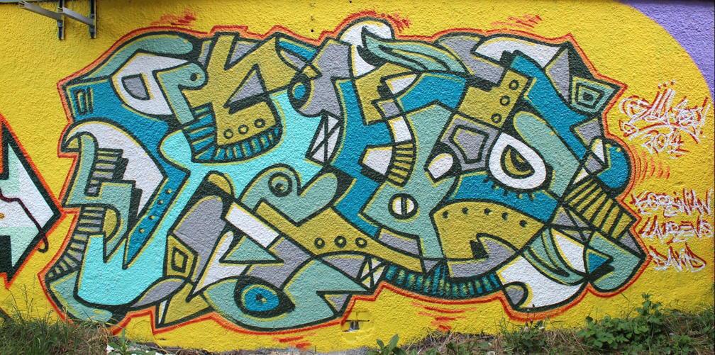 STONE AGE KIDS (Deutschland) Cemnoz, Lando, Scout, Neon Münchner Graffiti-Künstler und Wegbereiter der Streetart in Deutschland seit Mitte der 80er Jahre; Teilnahme an Projekten weltweit; Berühmt-berüchtigt für die wilde, freie und originäre Graffiti-Form seit den 80er Jahren