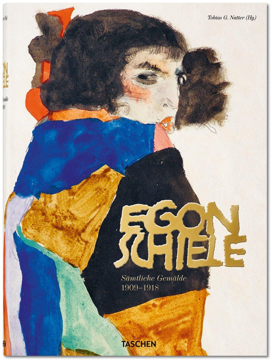 Egon Schiele. Sämtliche Gemälde 1909-1918 | Tobias G. Natter | Hardcover with, 29 x 39,5 cm, 608 Seiten
