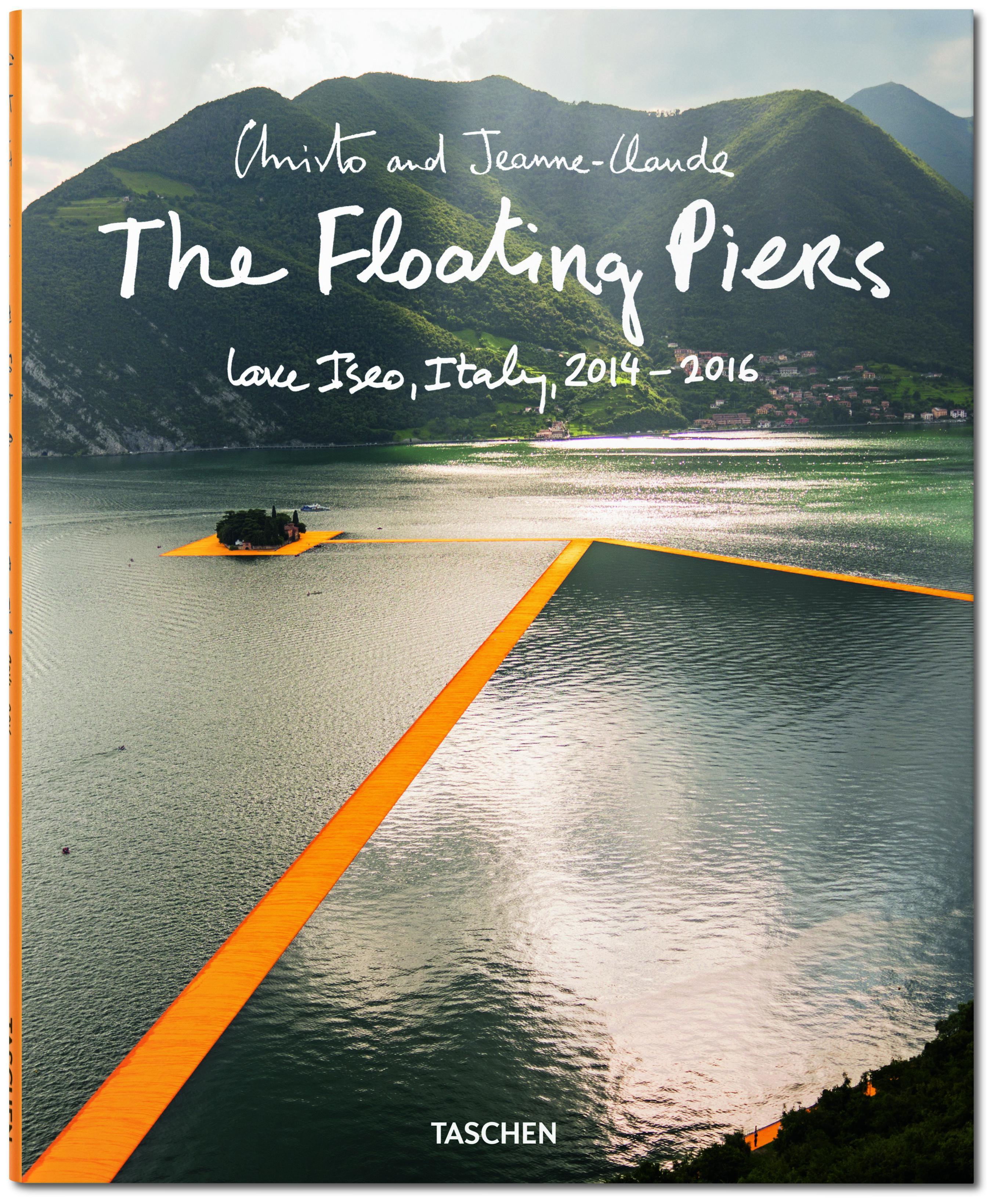 Christo und Jeanne-Claudes Floating Piers auf dem Iseosee