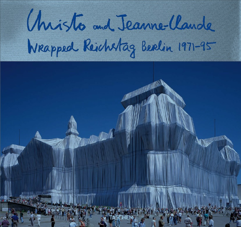 Christo and Jeanne-Claude, Wrapped Reichstag, Berlin, 1971-95