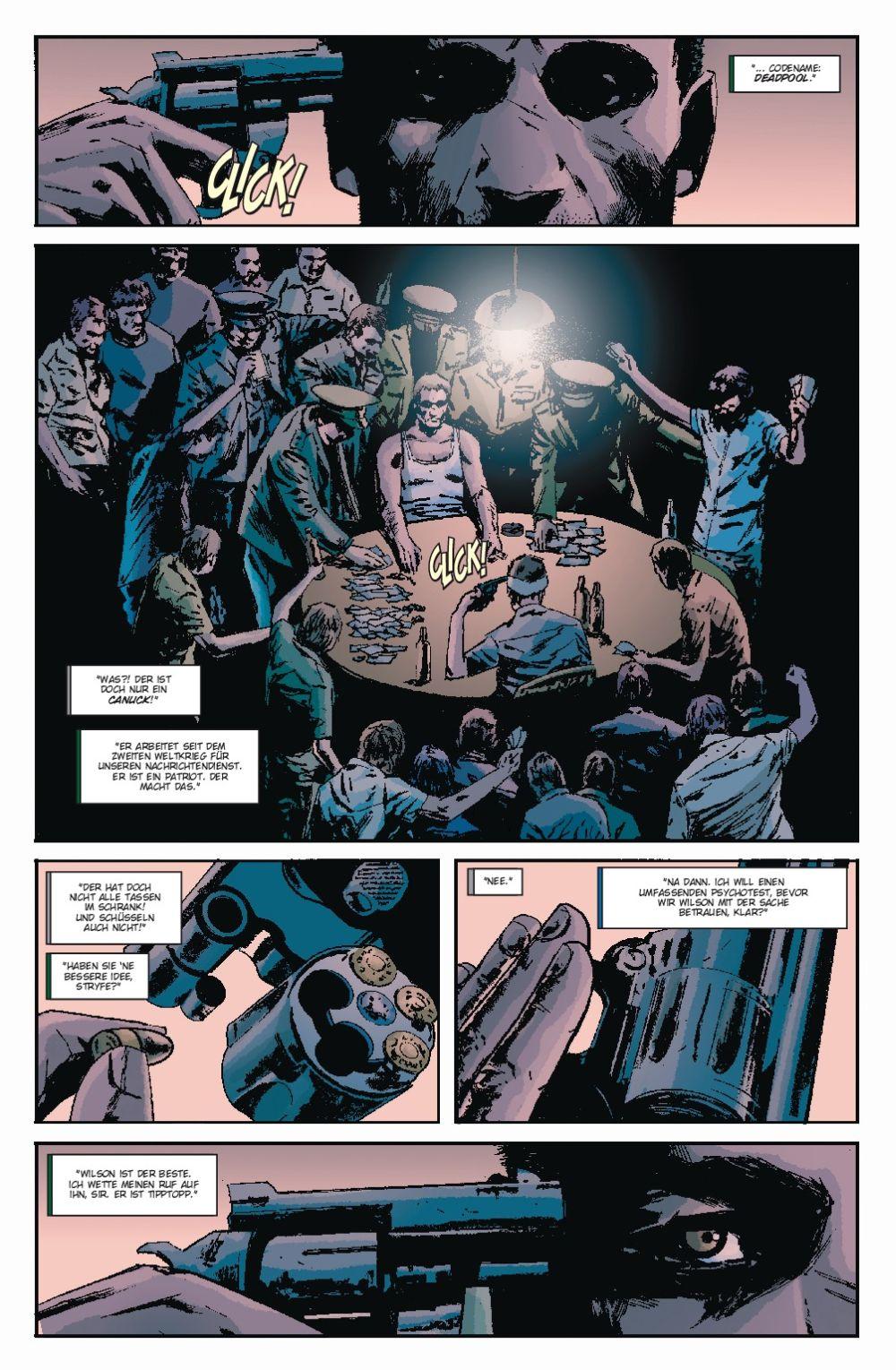 Marvel-Comic: DEADPOOL | PULP - Verlag: Panini-Verlag | Auszug aus dem Inhalt
