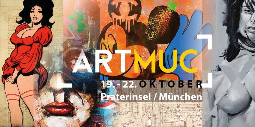 ARTMUC | 19. - 22. Oktober | Praterinsel / München
