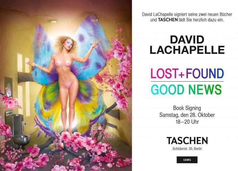 """David LaChapelle signiert """"Lost + Found"""" & """"Good News"""" am Samstag, den 08.10. zwischen 18 - 10 Uhr"""