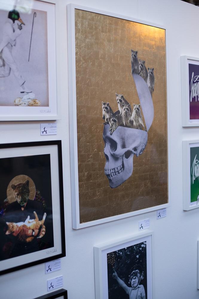 Malerei, Fotografien, Fotomontagen oder auch Collagen - die Bandbreite umfasst alle Bereiche der darstellende Kunst