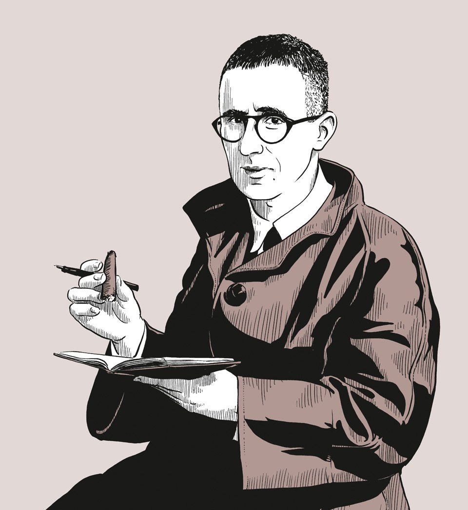 Der Theaterrevolutionär – Bertolt Brecht | Copyright: Robert Nippoldt © TASCHEN