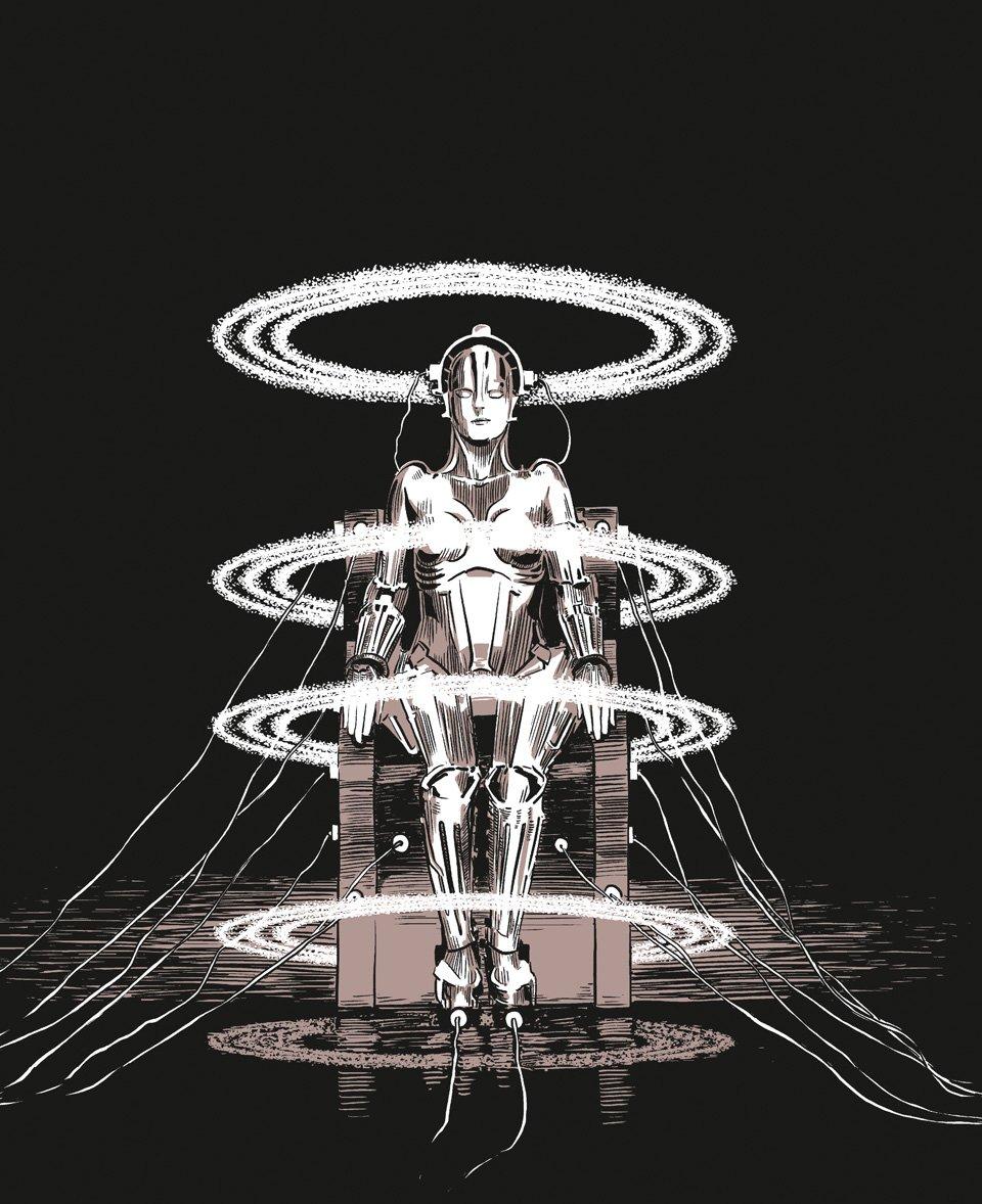 Metropolis – Brigitte Helm als Maschinen-Maria | Copyright: Robert Nippoldt © TASCHENMetropolis – Brigitte Helm als Maschinen-Maria | Copyright: Robert Nippoldt © TASCHEN