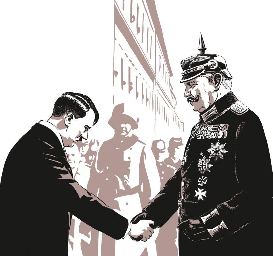 Hitler und Hindenburg, 30. Januar 1933, Ernennung zum Reichskanzler | Copyright: Robert Nippoldt © TASCHEN