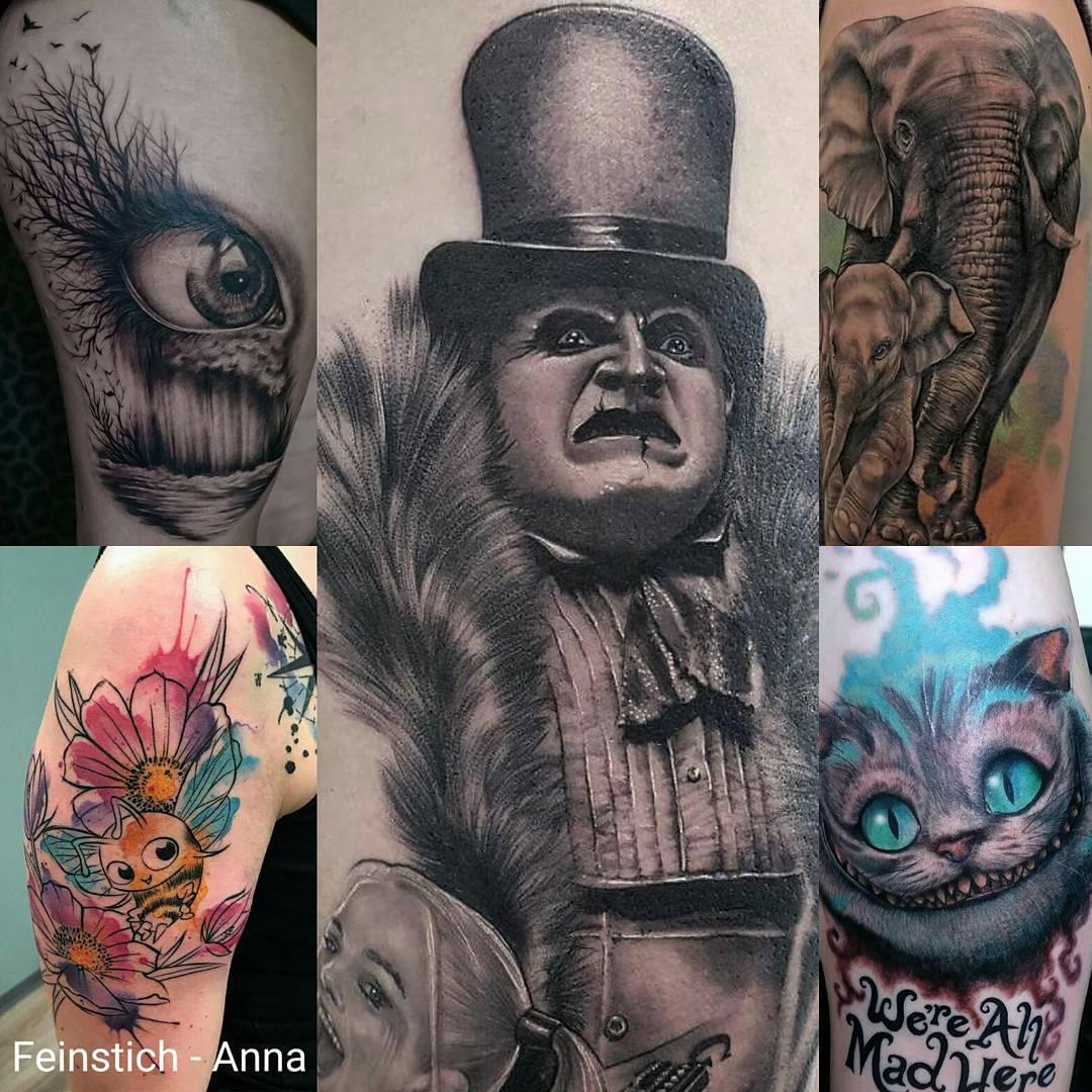 aus der Teilnehmerliste: tattoo-piercing-show-muenchen.de/teilnehmer-2018