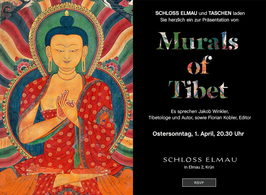 "Thomas Laird. ""Murals of Tibet"" - Buch-Präsentation im Schloss Elmau | Ostersonntag, 1. April, 20:30 Uhr"