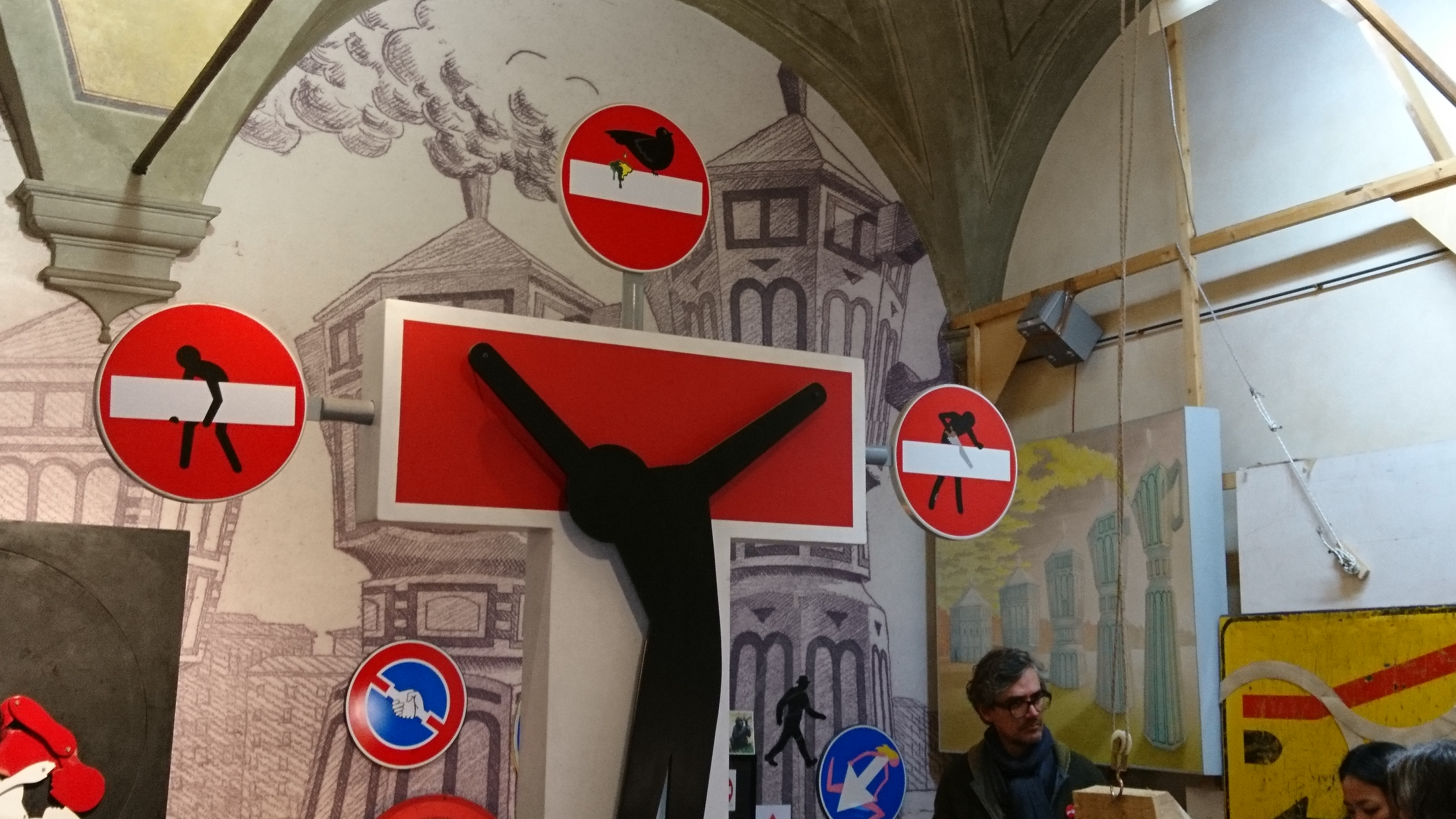 Im Atelier des Straßenkünstlers CLET