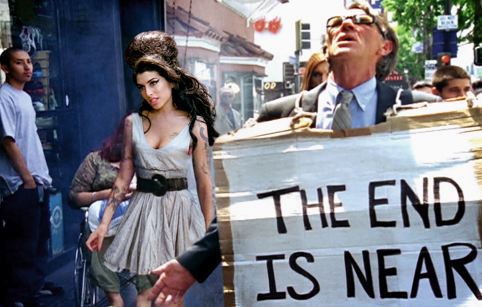 Amy Winehouse | Fallen friend on the walk of stars 2007 | © David LaChapelle Studio
