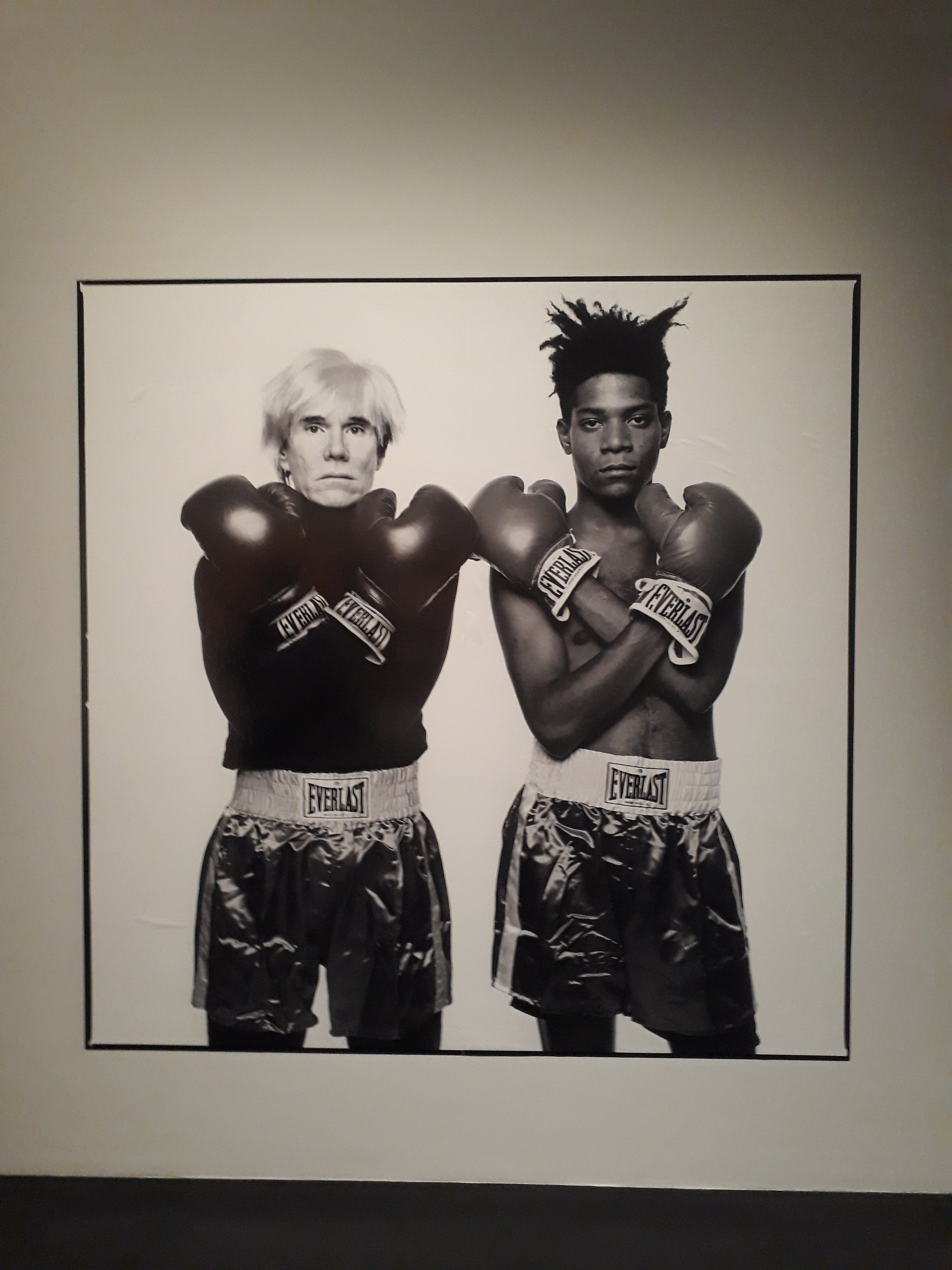 Andi Warhol und Jean-Michel Basquiat | Copyright: Sven Biller