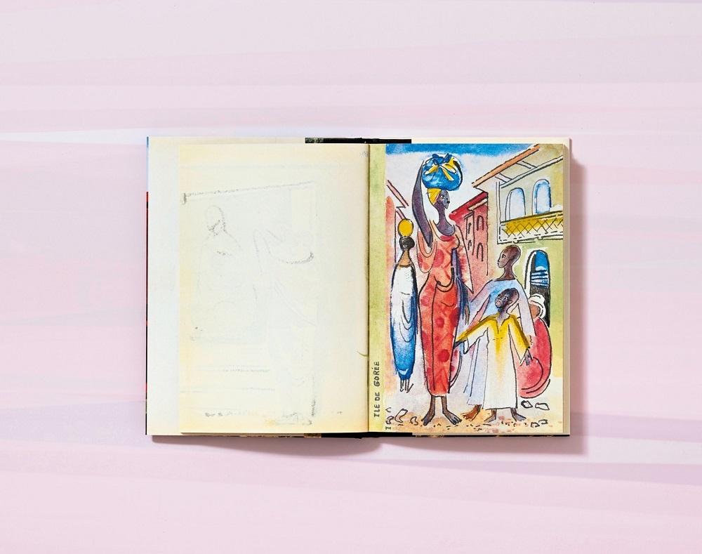 Françoise Gilot. Three Travel Sketchbooks: Venice, India, Senegal | Thérèse Crémieux, Hans Werner Holzwarth | Senegal