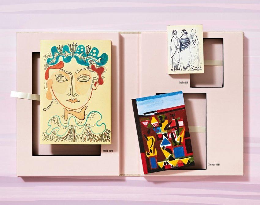 Françoise Gilot. Drei Reise Skizzenbücher: Venedig, Indien und Senegal