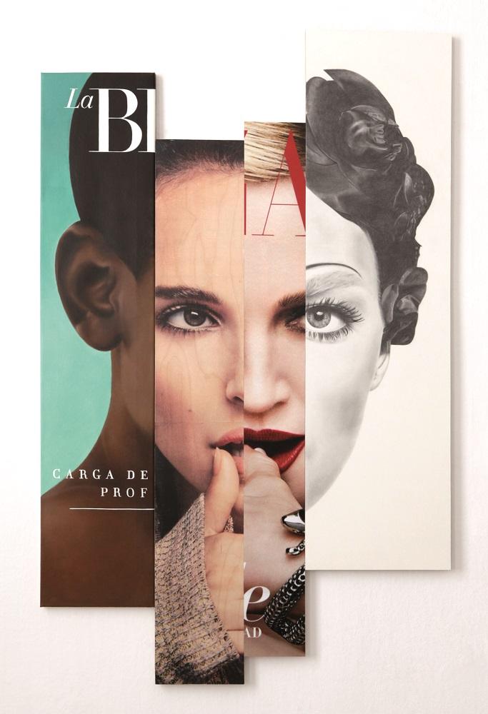 Anna  Herrgott | FACE |17 x 91 x 2cm | a2017