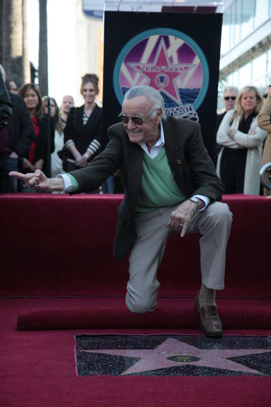 "Stan Lee: Der 2.428ste Star auf dem Hollywood Walk of Fame! Aus: ""The Stan Lee Story"" © MARVEL"